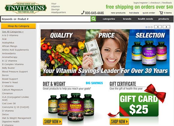 TNvitamins coupon code