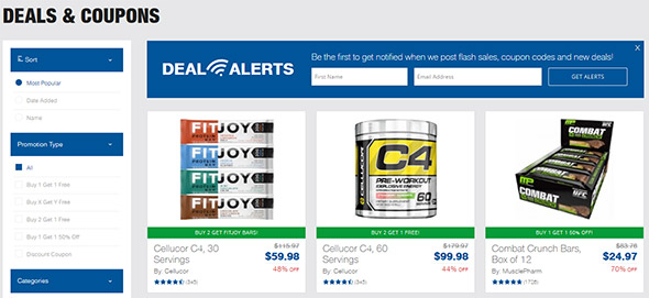 Muscle and Strength Coupon Code