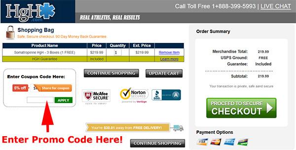 HgH.com promo code