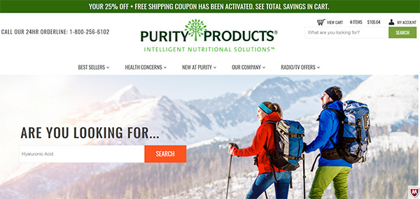 Purity Products review