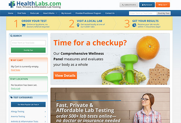 Healthlabs.com review