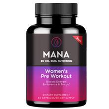 MANA Women's Pre Workout promo code